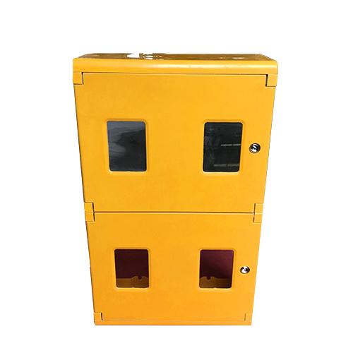 SMC横式双层2-2四位表箱